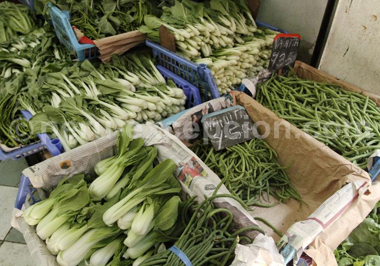 Variété de légumes, Pérou