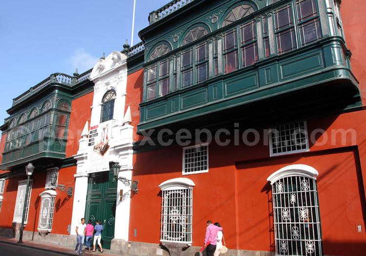 Bâtiment colonial, ville de Lima