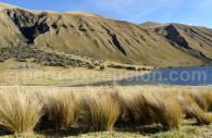 Lac entre Huaraz et Chavín de Huantar