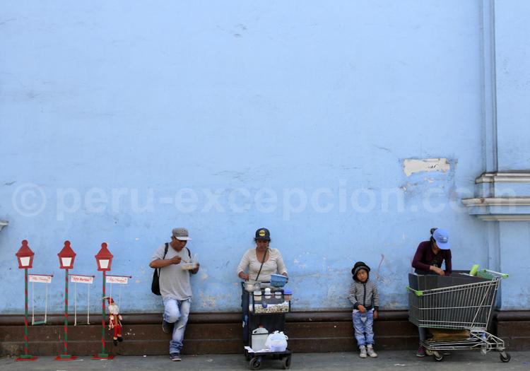 Scène de rue, Pérou