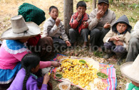 Tradition des récoltes à Cajamarca