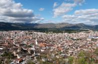 Cajamarca depuis le Mont Santa Apolinia