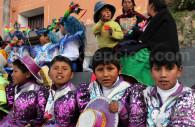 Fête traditionnelle, île de Taquile, Titicaca