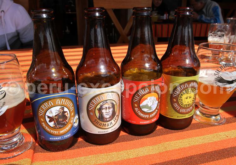 Bière péruvienne