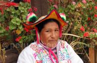 Chapeau en feutrine, région du lac Titicaca