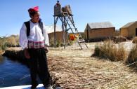 Communauté quechua, lac Titicaca