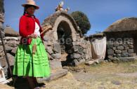 Elaboration du fil à tisser, Titicaca