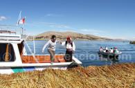 Iles flottantes du lac Titicaca, Pérou