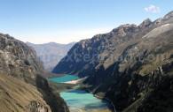 Lacs Llanganuco du col Yanapaccha