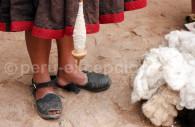 Machine à tisser, Pérou