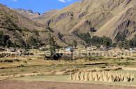 Petit village sur l'Altiplano, Pérou