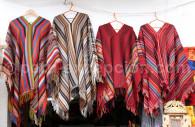 Ponchos en laine