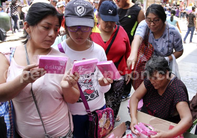 Scène de rue au Pérou
