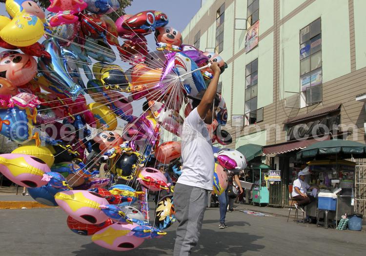 Ballons à l'helium