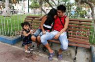 Sortie en famille, Lima