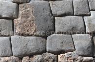 Assemblage des pierres, temple inca