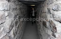 Galerie souterraine du site Chavin de Huantar
