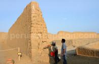Visite des ruines de Chan Chan