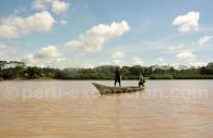 En barque à Puerto Maldonado