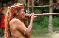 Chasseur indigène de l'Amazonie, Licence CC