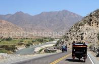 Route de Kuntur Huasi à Trujillo