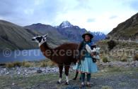 Paysanne entre Chavin et Huaraz