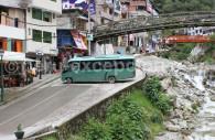 Transport à Aguas Calientes