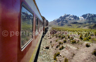 Train de Lima à Huancayo
