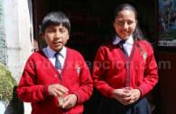 Écoliers en uniforme, Arequipa