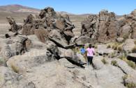 Sculptures minérales naturelles, Imata, Pérou