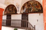 Fresque murale, Santa Catalina, Pérou