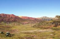 Paysage vu de la ligne Lima-Huancayo