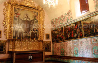 Salle d'exposition, Monastère Santa Teresa