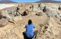 Formations rocheuses de Puruña, Pérou