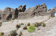 Formations rocheuses, Imata, Pérou