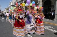 Fête traditionnelle péruvienne