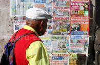 Kiosque à journaux, Arequipa