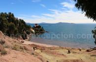 Vue sur le Lac Titicaca, Cerro Jachapataza