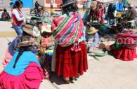 Marché traditionnel d'Acora