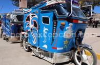 Taxi moto, Chivay, Pérou