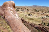 Site pré inca Aramu Muru