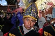 Fête traditionnelle, lac Titicaca