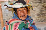 Portrait quechua, Lac Titicaca