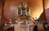 Autel central, église de Pomata