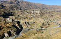 Panorama sur le canyon de Colca