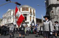 Défilé à Arequipa