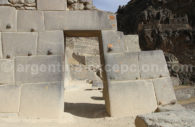 Porte inca à Ollantaytambo