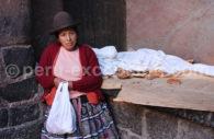 Tenue traditionnelle de la région de Cuzco