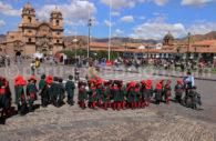 Sortie d'école, Cusco