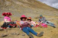 Famille péruvienne, région de Cusco